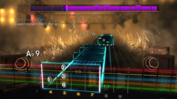 "Скриншот №1 к Rocksmith® 2014 Edition – Remastered – Stevie Wonder - ""Superstition"""