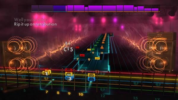 "Скриншот №1 к Rocksmith® 2014 Edition – Remastered – Green Day - ""Fire Ready Aim"""
