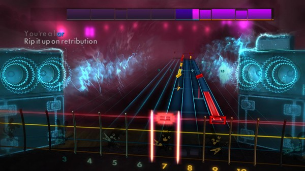 "Скриншот №4 к Rocksmith® 2014 Edition – Remastered – Green Day - ""Fire Ready Aim"""