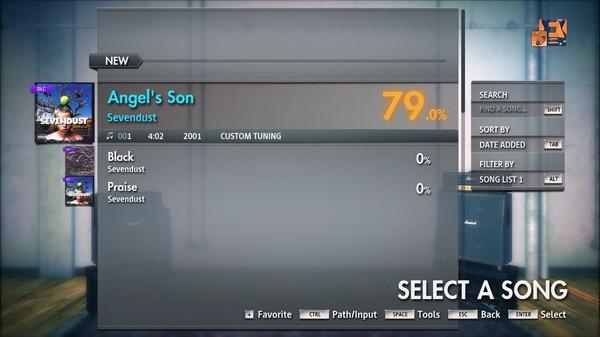 "Скриншот №4 к Rocksmith® 2014 Edition – Remastered – Sevendust - ""Angels Son"""