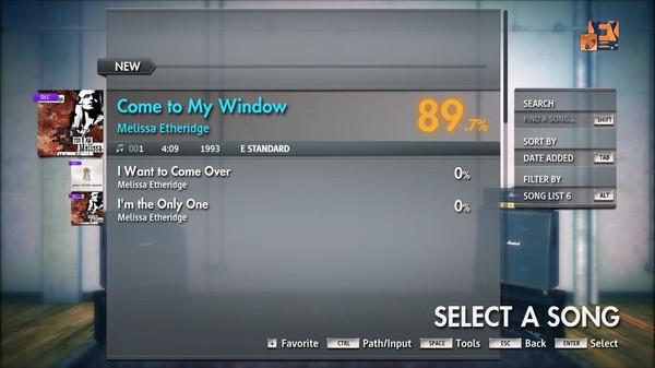 "Скриншот №3 к Rocksmith® 2014 Edition – Remastered – Melissa Etheridge - ""Come to My Window"""