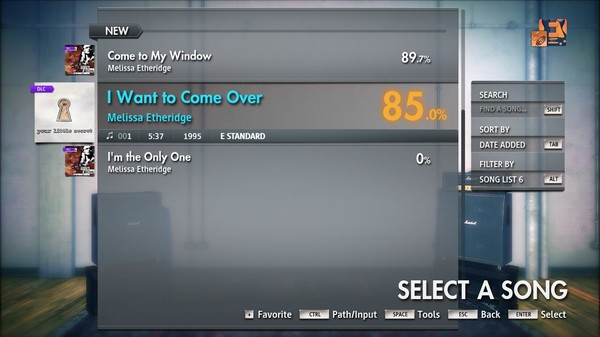 "Скриншот №4 к Rocksmith® 2014 Edition – Remastered – Melissa Etheridge - ""I Want to Come Over"""