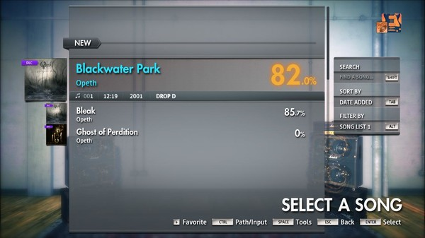 "Скриншот №3 к Rocksmith® 2014 Edition – Remastered – Opeth - ""Blackwater Park"""
