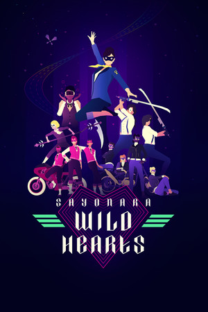 Sayonara Wild Hearts poster image on Steam Backlog