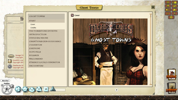 Fantasy Grounds - Deadlands Reloaded: Ghost Towns (Savage Worlds) (DLC)