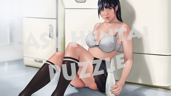 Easy hentai puzzle - Wallpapers. Mode 2 (DLC)