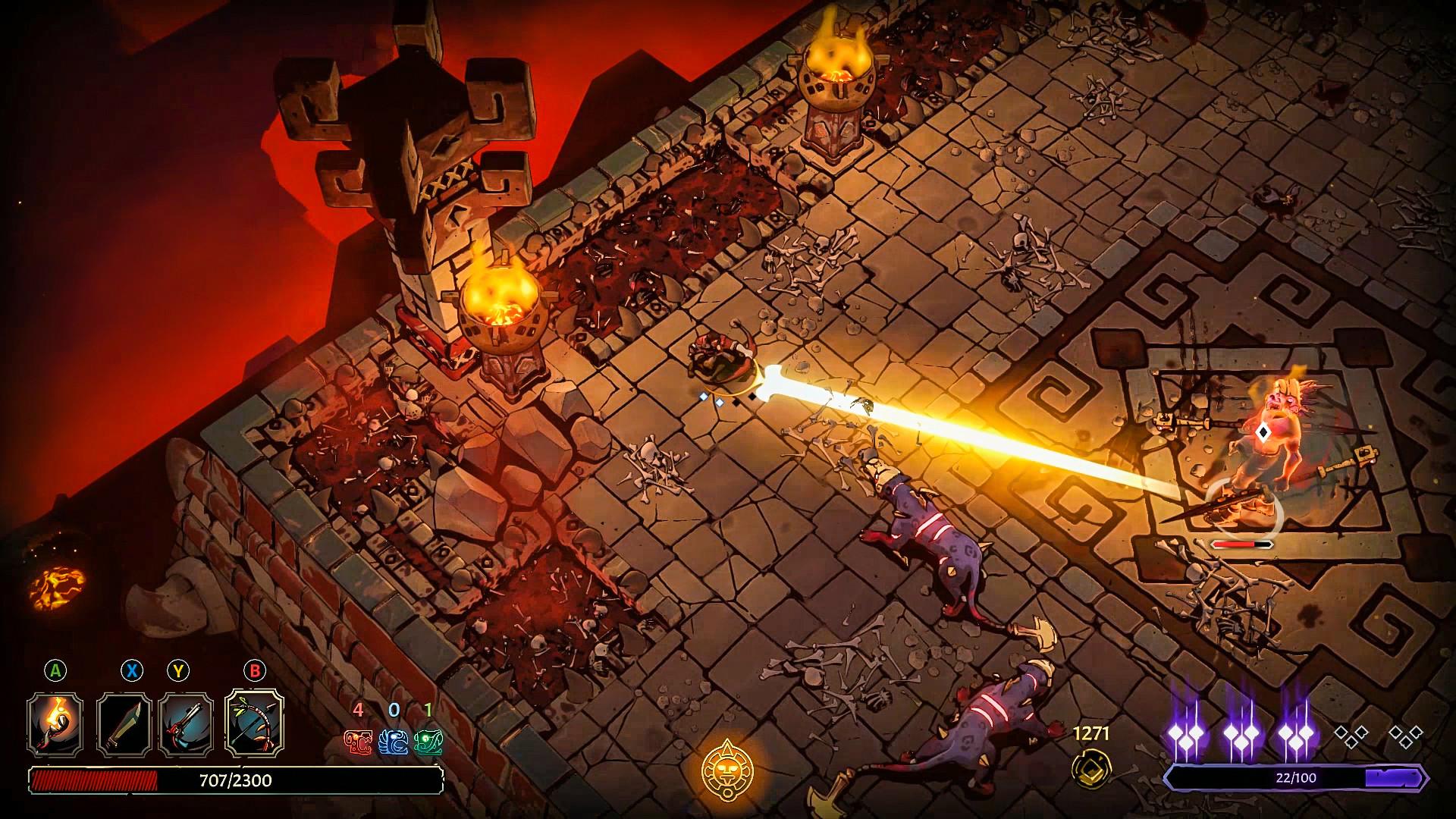 Curse of the Dead Gods confirma su fecha de lanzamiento en Xbox 2