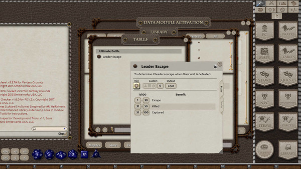 Fantasy Grounds - Ultimate Battle (5E) (DLC)