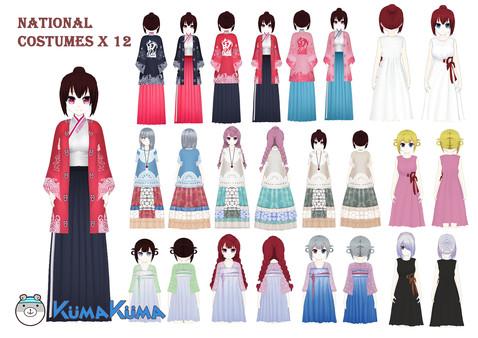 KumaKuma – National Costumes (DLC)