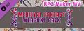 RPG Maker MV - Medieval Fantasy Weapons Pack