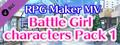 RPG Maker MV - Battle Girl characters Pack 1