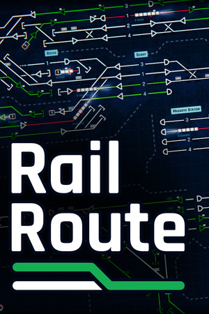 Rail Route poster image on Steam Backlog
