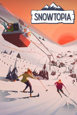 Snowtopia: Ski Resort Tycoon poster image on Steam Backlog