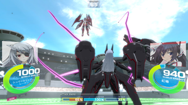 IS -Infinite Stratos- Versus Colors