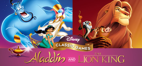 Disney Classic Games: Aladdin and The Lion King Capa