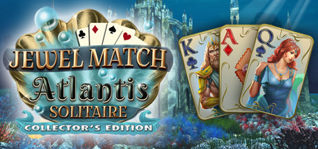 Jewel Match Atlantis Solitaire - Collector's Edition cover art