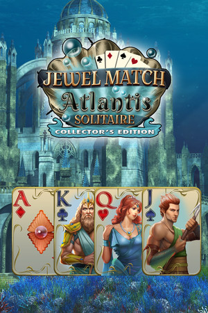 Jewel Match Atlantis Solitaire - Collector's Edition poster image on Steam Backlog