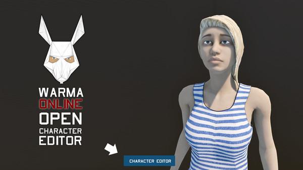 WARMA -Open character editor (DLC)