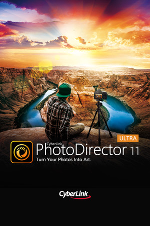 CyberLink PhotoDirector 11 Ultra - Photo editor, photo editing software poster image on Steam Backlog