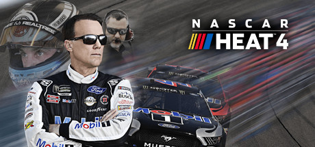 NASCAR Heat 4 cover art