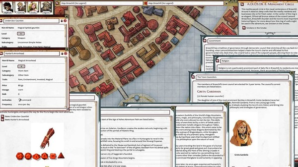 Fantasy Grounds - Pathfinder 2 RPG - Age of Ashes AP 1: Hellknight Hill (PFRPG2) (DLC)