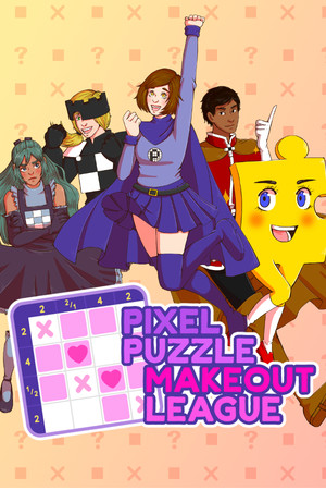Pixel Puzzle Makeout League poster image on Steam Backlog