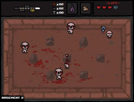 скриншот The Binding of Isaac 1