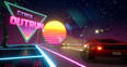 Cyber OutRun by  Screenshot
