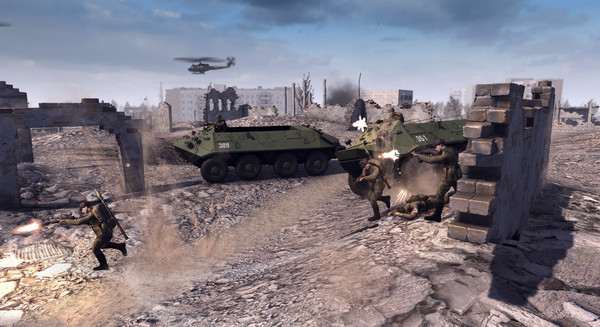 Men of War: Assault Squad 2 - Cold War v1.004.0 (Repack)