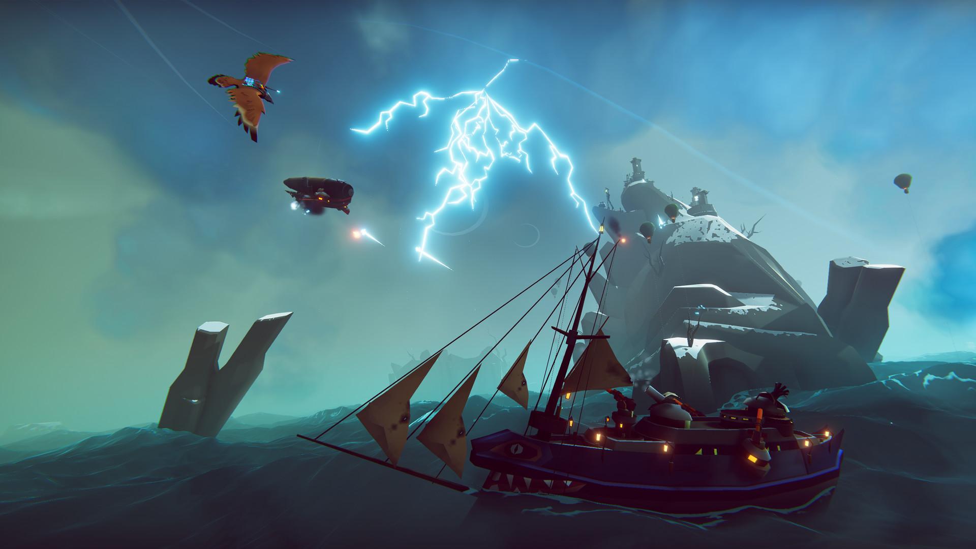 Nuevo tráiler con gameplay de The Falconeer se centra en la historia 2