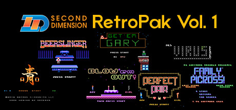 Second Dimension RetroPak Vol. 1