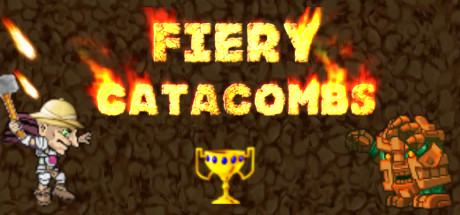 Fiery catacombs cover art