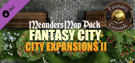 Купить Fantasy Grounds - Meander Map Pack City Expansions II (Map Pack) (DLC)