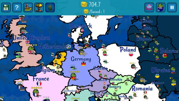 Скриншот из Dictators:No Peace Countryballs