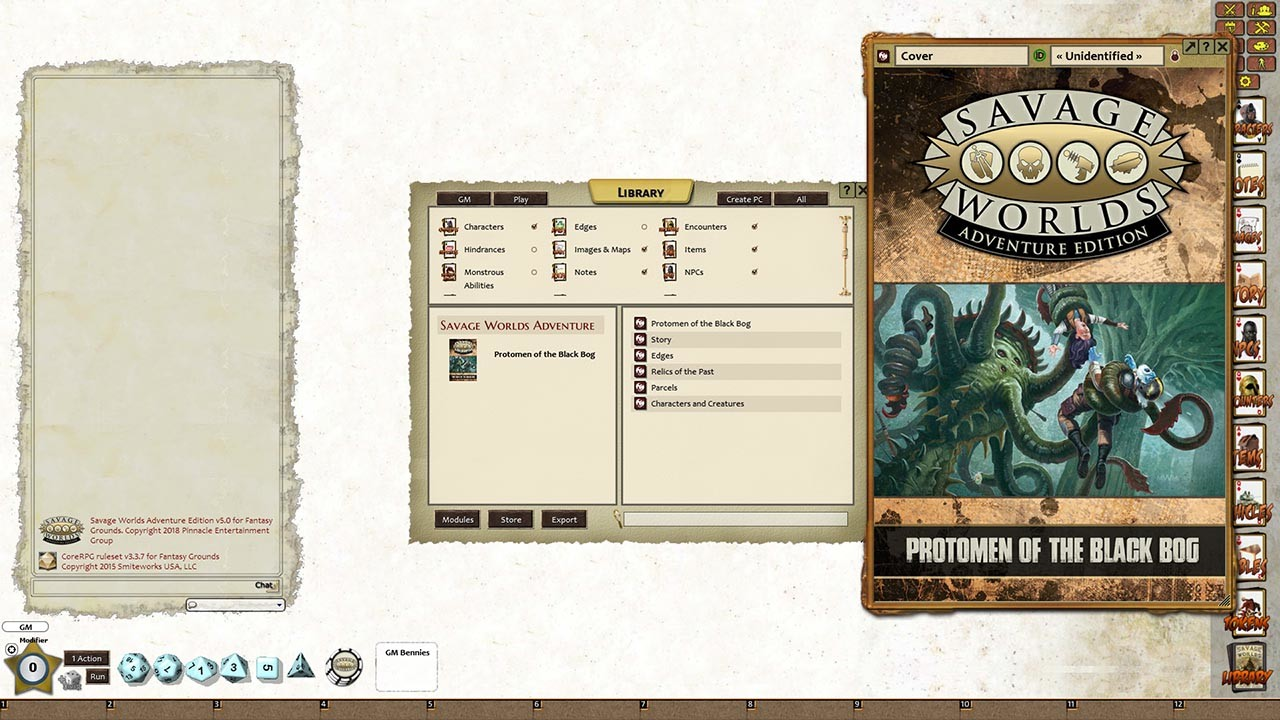 Fantasy Grounds - Protomen of the Black Bog Post-Apocalyptic
