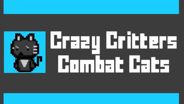 Crazy Critters - Combat Cats logo
