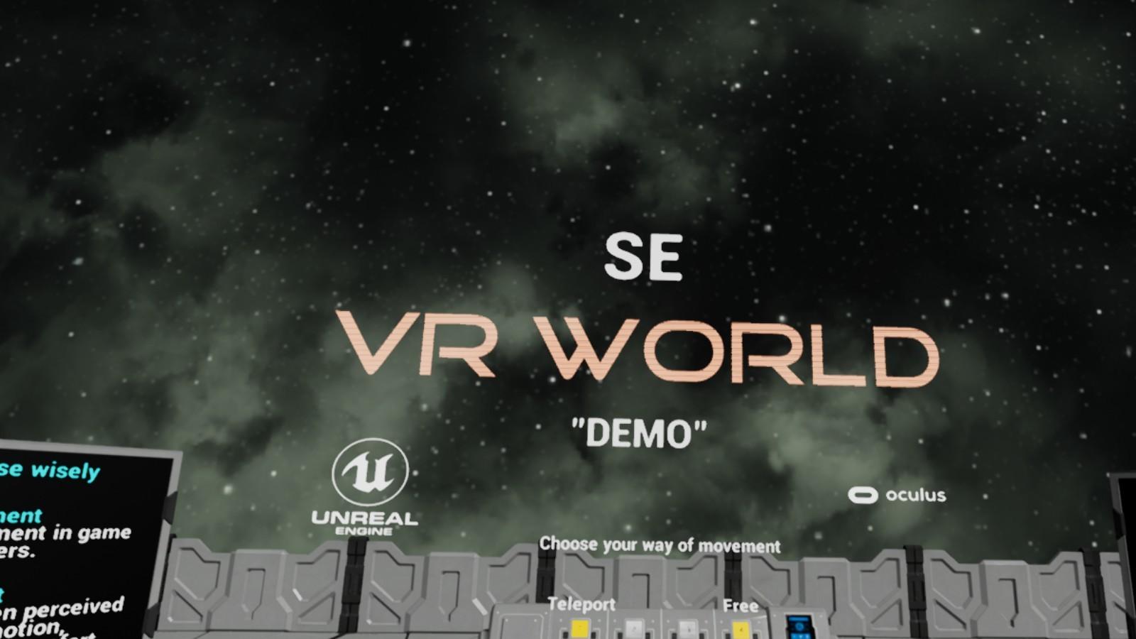 SE VR World Demo on Steam