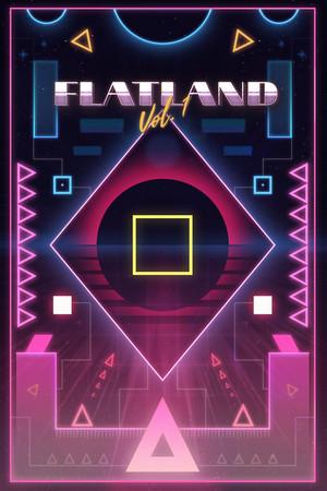 FLATLAND Vol.1 poster image on Steam Backlog