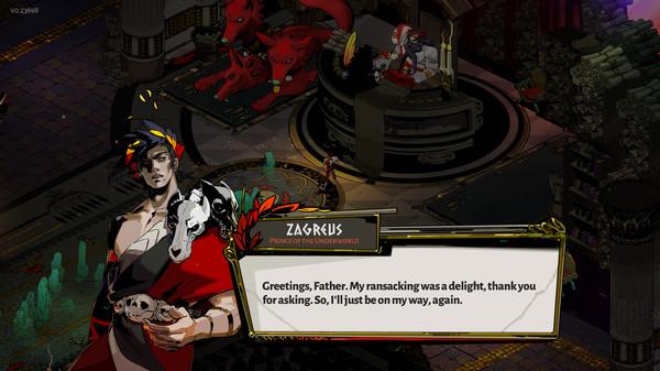 Screenshot of Hades