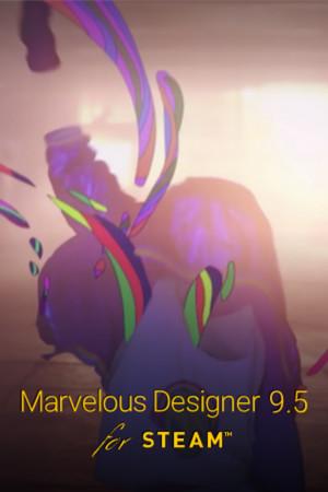 Marvelous Designer 9.5 for Steam poster image on Steam Backlog