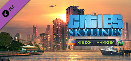 Cities Skylines  Sunset Harbor [PT-BR] Capa