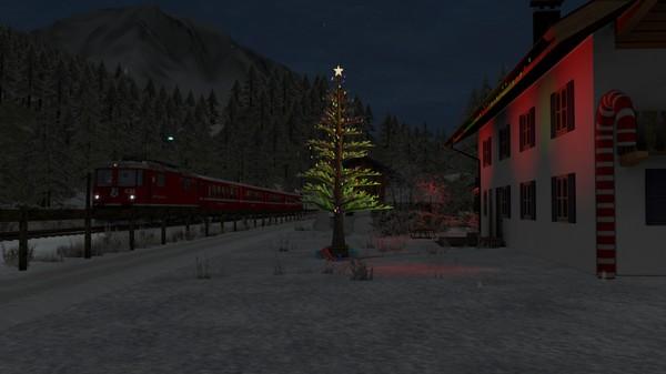 скриншот TS Marketplace: Surselva Line Christmas Scenario Pack 5