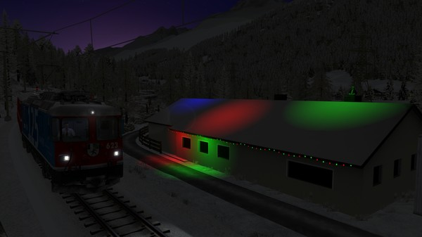 скриншот TS Marketplace: Surselva Line Christmas Scenario Pack 2