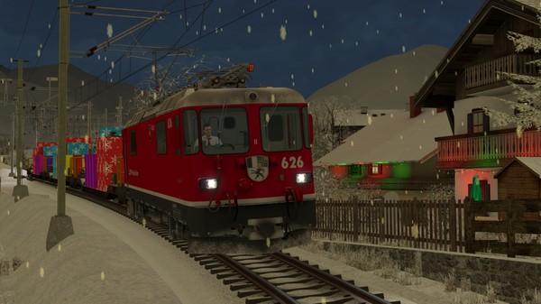 скриншот TS Marketplace: Surselva Line Christmas Scenario Pack 1