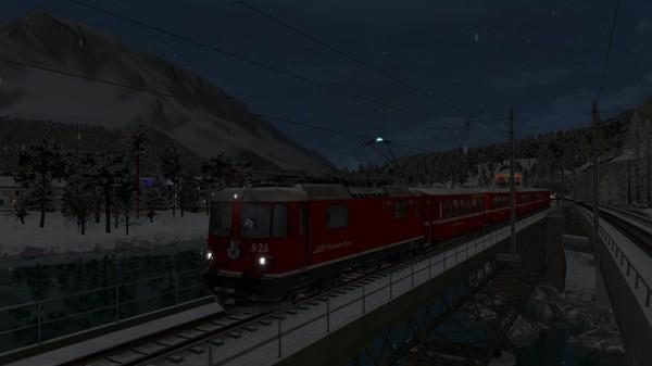 скриншот TS Marketplace: Surselva Line Christmas Scenario Pack 4
