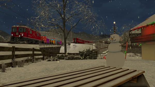скриншот TS Marketplace: Surselva Line Christmas Scenario Pack 3