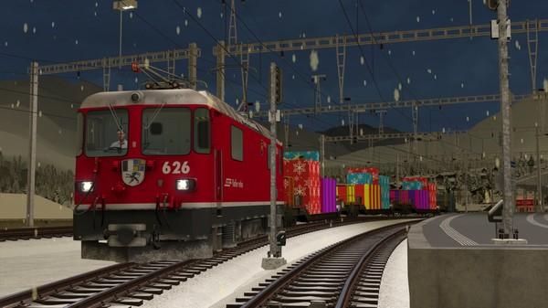 скриншот TS Marketplace: Surselva Line Christmas Scenario Pack 0