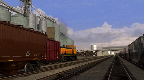 скриншот Train Simulator: Montana Hi-Line: Shelby - Havre Route Add-On 4