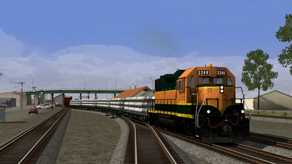 скриншот Train Simulator: Montana Hi-Line: Shelby - Havre Route Add-On 1