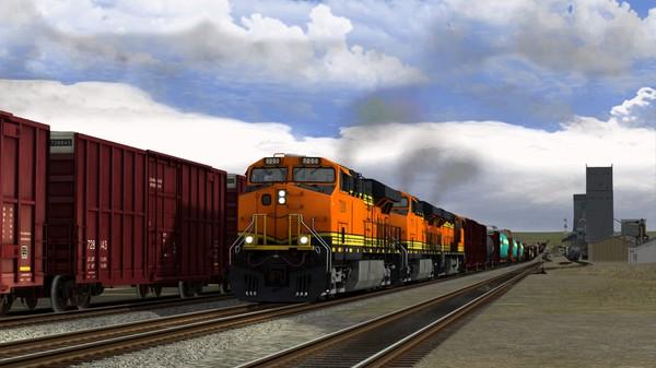скриншот Train Simulator: Montana Hi-Line: Shelby - Havre Route Add-On 5
